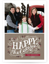 Holiday Celebration Holiday Photo Cards