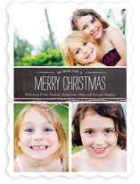 Tied with Twine Christmas Cards Holiday Photo Cards
