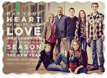 Earnest Holiday Photo Cards