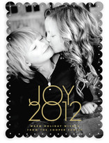 Typeset Joy Holiday Photo Cards