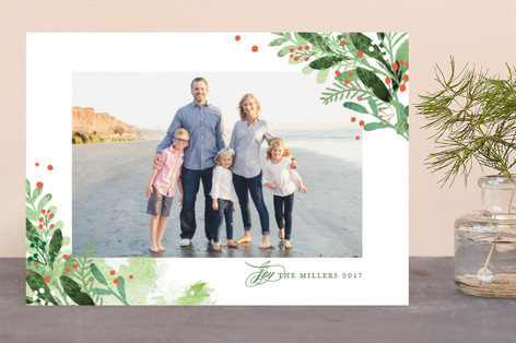 Pine corners Holiday Photo Cards