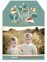 Woodland Noel Holiday Photo Cards
