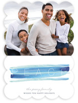 Peace and Quiet Holiday Photo Cards