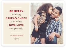 Merry Funny Holiday Photo Cards