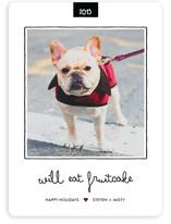 Fruitcake Holiday Photo Cards