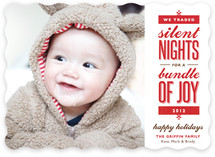 Silent-less Nights Holiday Photo Cards