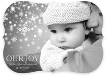 Our Snowflake Joy Holiday Photo Cards