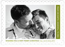 Peace toward All Holiday Photo Cards