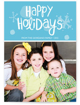 Holiday Sparkle Holiday Photo Cards