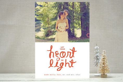 Lighthearted Holiday Photo Cards