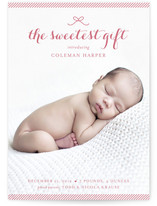 Sweetest Gift Holiday Photo Cards