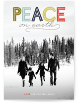 Modern Headline Holiday Photo Cards