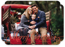 Classic Merry Holiday Photo Cards