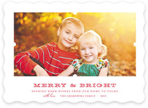Notch Holiday Photo Cards