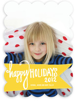 Varsity Holiday Photo Cards