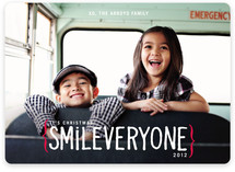Smile Everyone Holiday Photo Cards