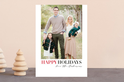 Christmas Classic Holiday Photo Cards