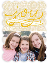 Paisley Joy Holiday Photo Cards