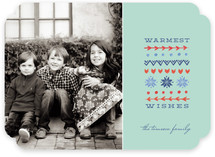 Warmest Wishes Holiday Photo Cards
