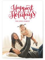 Happiest Holidays Holiday Photo Cards
