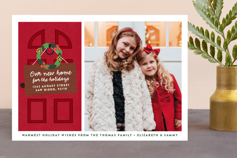 New Home Holiday Photo Cards