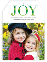 Striped Joy Holiday Photo Cards