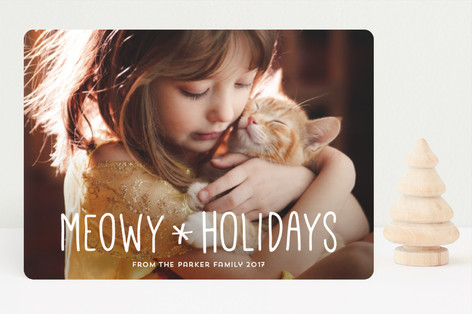 Merry Kittymas Holiday Photo Cards