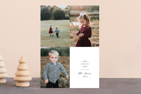 Grateful Grid Holiday Photo Cards