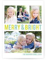Merry & Bright Holiday Photo Cards