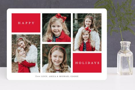 Winter Windows Holiday Photo Cards