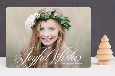 Symphonic Holiday Photo Cards
