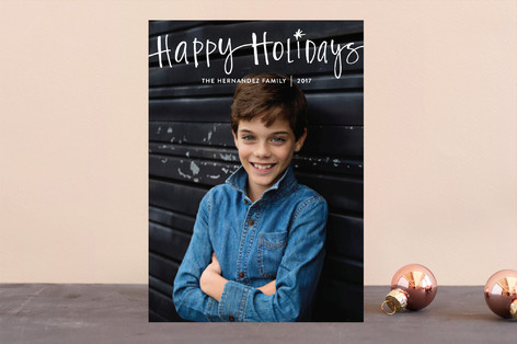 All About Holiday Holiday Photo Cards