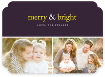 Merry &amp; Bright Holiday Delight Holiday Photo Cards