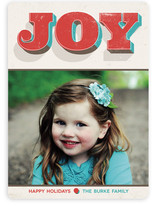 Joyful Colors Holiday Photo Cards