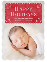 Papel Navidad Holiday Photo Cards