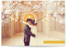 Illuminated Holiday Photo Cards