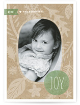 Winter Kraft Holiday Photo Cards