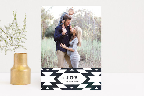 festive nordic Holiday Photo Cards