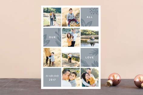 Tranquil Holiday Holiday Photo Cards