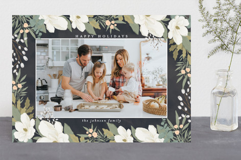 Garden Frame Holiday Photo Cards