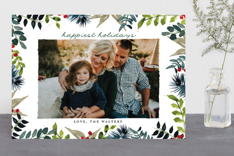 Winter Whimsy Holiday Photo Cards