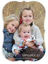 Jingle and Joy to the World Holiday Photo Cards