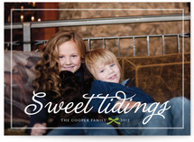 Jingle and Sweet Tidings Holiday Photo Cards