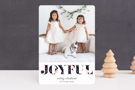 Joy of all Colors Holiday Photo Cards