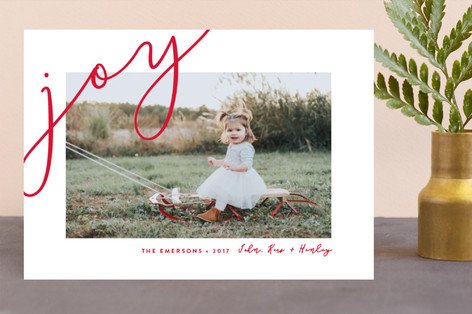 Fresh Air Holiday Photo Cards