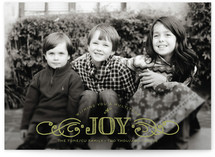 Multiplied Joy Holiday Photo Cards