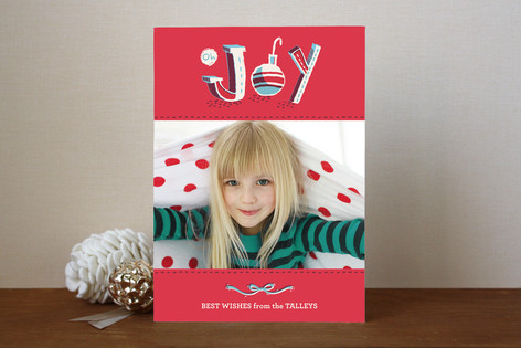 Oh Joy Christmas Holiday Photo Cards