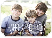 Happiest Homestyle Holiday Photo Cards
