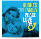Peace, Love and Bop Holiday Photo Cards