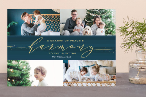 Harmony Holiday Photo Cards